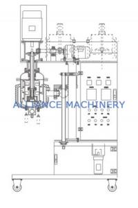 R&D Lab Scale Emulsification Equipment , Vacuum Emulsifier