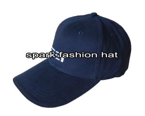 Quality Customize high quality embroidered promotional 6 panel blue baseball cap for sale