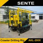 Crawler type AKL-200Y diamond core drilling rig