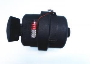 Quality Plastic Piston Water Meter ClassC / ClassD Volumetric Black for sale