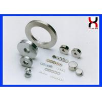 Brute Force NdFeB Permanent Magnet In Zinc / Nickel / Color Zinc Appearance