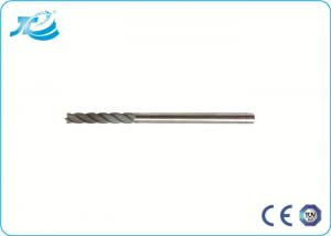 China HRC 60 Degree Solid Carbide Endmill with  Air or Oil Cooling Mode on sale