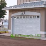 Porte aérienne sectionnelle de garage/porte sûre de garage de doigt de porte entrée de garage pour des appartements