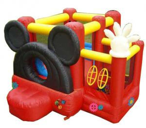 China Mickey mouse Inflatable bouncer on sale