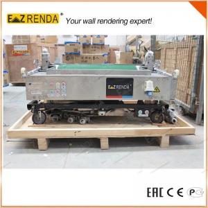 China Brick Wall Mechanical Plastering Machine , Cement Rendering Machine High Speed on sale