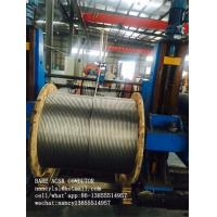 ASTM B232 BS 215 Aluminum Cable ACSR Conductor / Overhead Line Conductor
