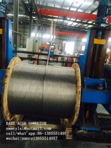 China Aluminum Conductor Steel Reinforced Bare Aluminum Cable ACSR Conductor on sale