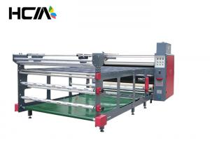 China Calendar Fabric Roll To Roll Heat Transfer Printing Machine For Bed Sheets on sale