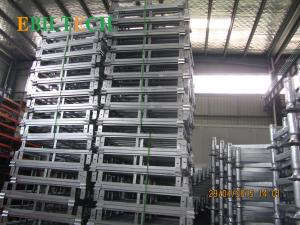 China Foldable Stackable Steel Pallets , 4 Way Entry  Warehouse Stacking Equipment on sale