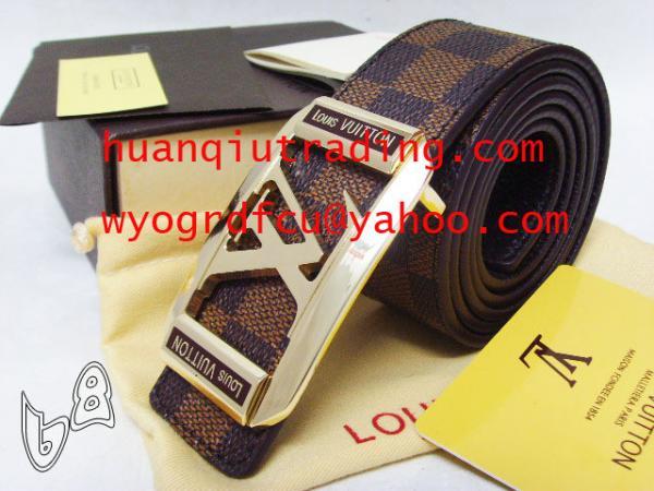 efb704d5b802 Wholesale AAA+ Hot Sale Mens L-V Leather Belts
