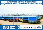 S355JR Prefab Steel Frame Light Formed R&M Steel Buildings Export To Portugal