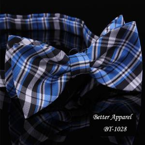 China polyester bow tie,custom embroidered bow tie on sale