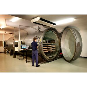 Quality High Pressure Glass Laminating Autoclave 2m For Wood / Brick / Rubber / Food for sale