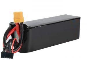 China Smart 22000mAh14.8 V Lipo Battery For Drone / 4 Cell Li Polymer Battery Pack on sale