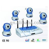 China High Resolution CCTV Wireless Camera CX-W388R4 on sale