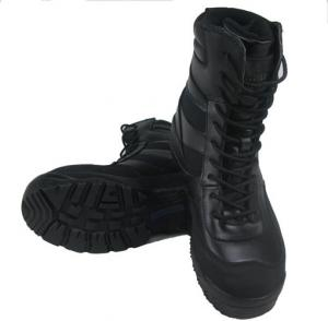 China Outdoor waterproof military boots on sale
