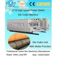 Corrugated Box Flexo Printer Carton Making Machine 1600 X 3000mm Max Feeding Size