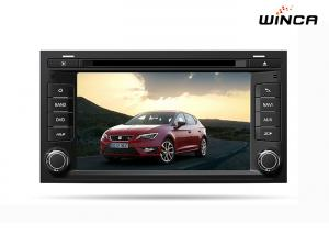 China 16 GB NAND Flash Car Audio GPS Navigation for Seat Leon 2013 Multi Function on sale