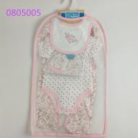 Summer Breathable Newborn Romper Set , Waterproof Baby Wear Clothes