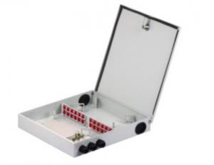 China 24 Cores Fiber Optic Distribution Box , Outdoor Waterproof Terminal Box on sale