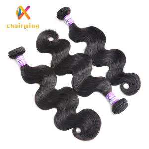 China Black Brazilian Hair body wave human hair on sale