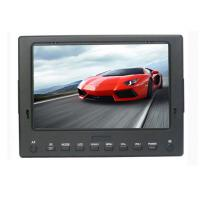 USB Input Full HD Car TFT LCD 7 Monitor 12V For Broadcasting Camera