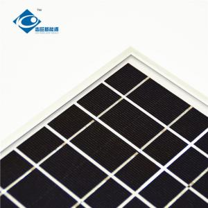China 6V 4W aluminum frame solar panel for hybrid wind solar panel charger ZW-4W-6V-1 on sale