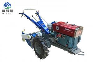 China Garden Potato Harvesting Equipment , Mini Potato Harvester With Walking Tractor on sale