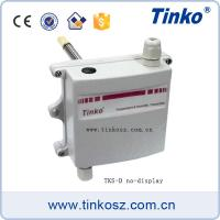 Duct mounting with flange modbus temperature humidity transmitter sensor temperature