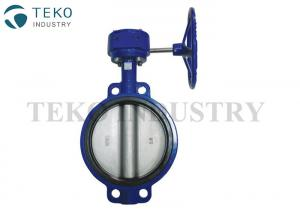 China Semi Lug Type API609 Butterfly Valve , BS EN593 Cast Iron Butterfly Valve With SS Disc on sale