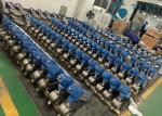 Stainless Steel V Port Pneumatic Segment Ball Valve For Paper & Pulp