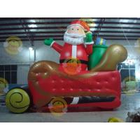 Giant Inflatable Balloon Santa Claus For Christmas Decoration