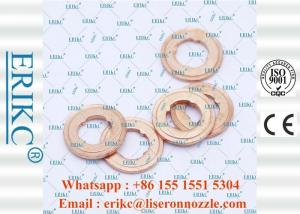 China ERIKC 9001-850C delphi injection spray copper washer 9001850C 3mm  injector nozzle copper shim 9001 850C on sale
