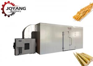 China PLC Heat Pump Food Dryer Hot Air Circulation Bamboo Shoots Drying Machine supplier