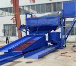Small and high capacity alluvial gold processing equipment plant machine