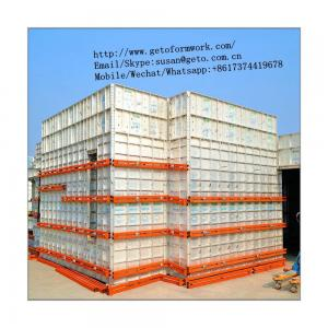 2018 Best Selling Plastic Composite Wall Formwork/Aluminum Formwork