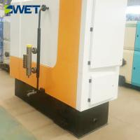 Reliable performance fully automatic feed water 600kg wood fired steam boiler for textile industry