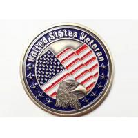 Military Metal Award Medals For United States Veteran With Eagle Symbol