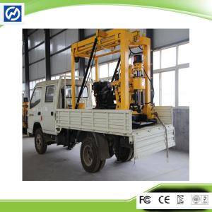 China XYC2000 Trailer Mounted Drilling Rig Potable Water Well Drilling Rig on sale