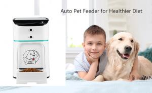 China Remote Control 2MP camera 550mL Automatic Animal Feeder on sale