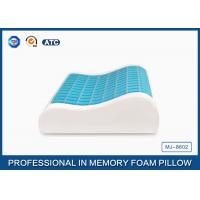 China Sleep Innovations Reversible Visco-Gel Memory Foam Pillow / Cooling Gel Bed Pillow on sale