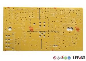 1 OZ / 35 µM Copper Single Layer Pcb Board , Power Bank Circuit