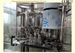 Touch Screen Automatic Milk Filling Machine With Bottle Neck Holding Transmission Technology