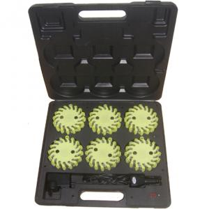 China rechargeable led road flares 6 packs on sale