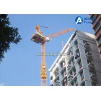 60 m Luffing Jib Tower Crane Boom Length 16 Tons For Civil Real Estate