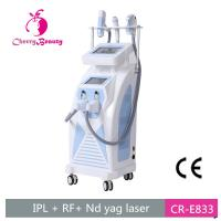 China IPL OPT SHR Nd yag laser hair tattoo removal skin rejuvenation 3 in 1 multi-function beauty device on sale