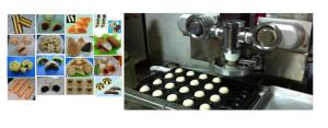 China Bread Production Line Automatic Encrusting Machine Wet Filling Products 28L on sale