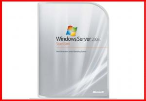 China microsoft windows server 2008 standard 5 Cals activated  32bit/ 64-bit DVD windows server 2008 standard retail pack on sale