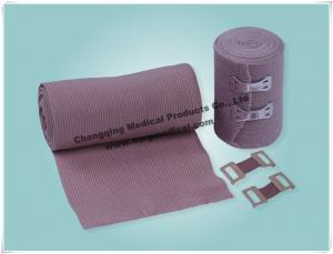 China Compression Cotton Elastic Bandage Wrap Latex Free Sports Protection on sale
