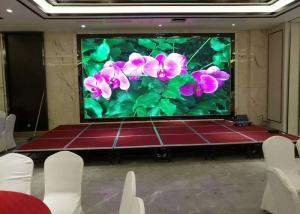 China 14 Bit Modular P3.91 Outdoor Led Screen Hiring 1920hz Front Maintained on sale
